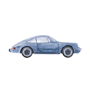 Porsche Watercolor Art