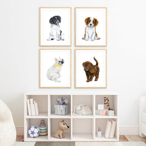 Puppy Nursery Decor