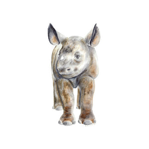Baby Rhinoceros Nursery Decor