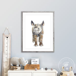Rhino Baby Room Decor