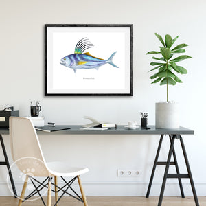 Roosterfish Painting
