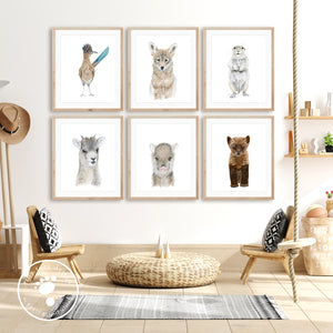 Southwest Animal Nursery Decor
