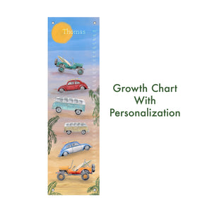Surf's Up Growth Chart with Personalization