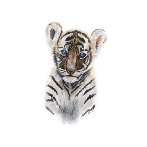 Baby Tiger Nursery Art