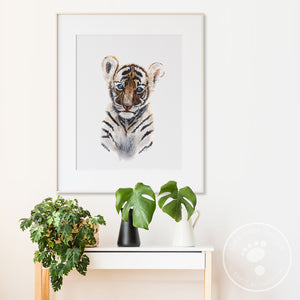 Tiger Cub Wall Art