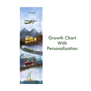 Customized Transportation Growth Chart