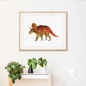 Triceratops Nursery Decor