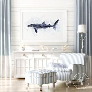 Whale Shark Home Decor