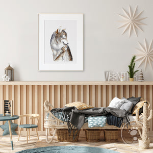 Wolves Nursery Decor