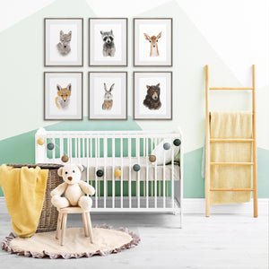 Framed Woodland Nursery Prints by Brett Blumenthal
