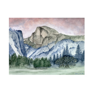 Half Dome - Yosemite National Park Poster