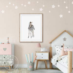 Baby Zebra Girls Room Decor