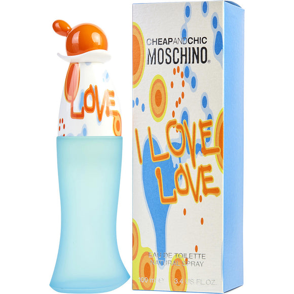 Moschino I Love Love EDT SP 3.4 OZ