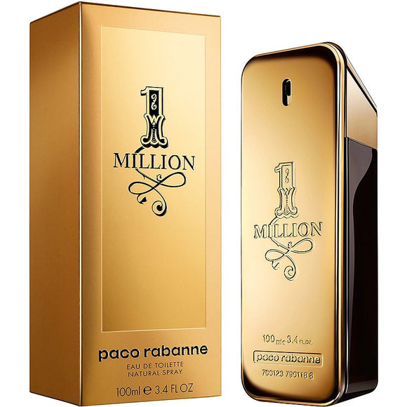 1 Million By Paco Rabanne EDT SP 3.4 OZ