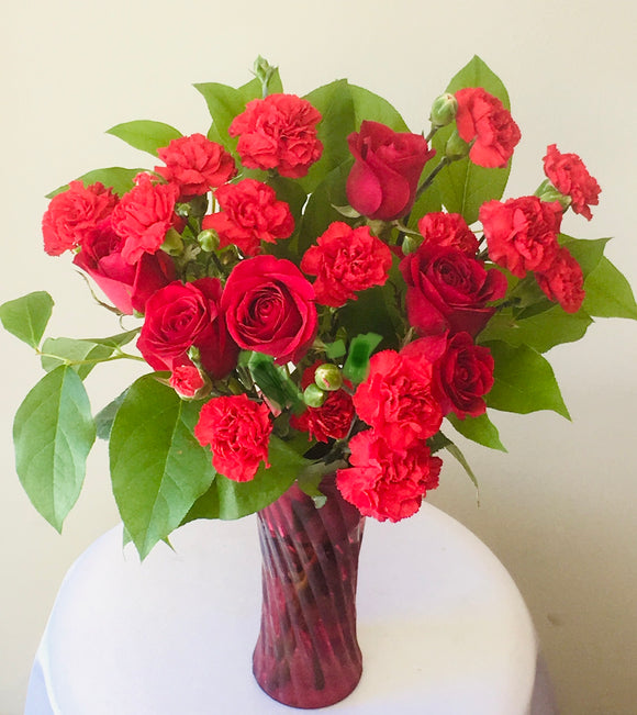 Forever Red Bouquet