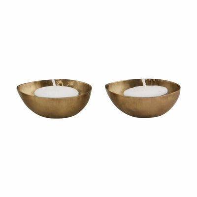 house doctor brass tea light holders
