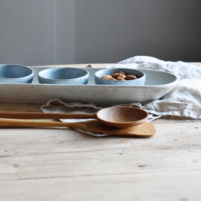 Ceramic Ivy Serving Tray