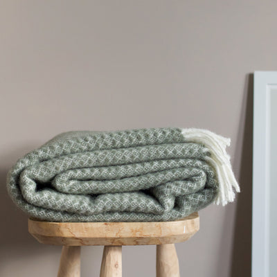 Klippan Blanket - Dusty Green