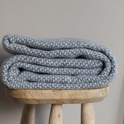 Klippan Lambswool Throw - Grey