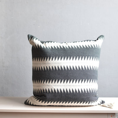 Ondine Ash - Lulu Stripe Cushion