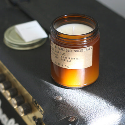 P.F Candle Co Patchouli & Sweetgrass