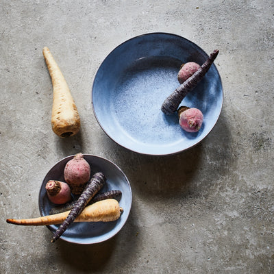 Rustic Ceramic Serving | Fruit Bowl