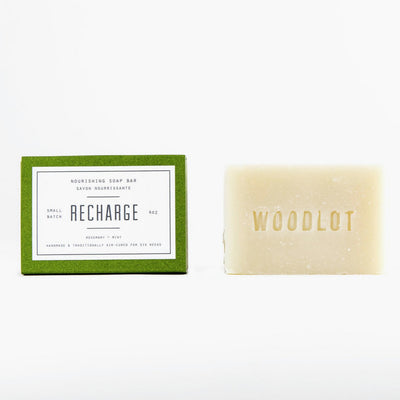 Woodlot Soap Bar- Recharge