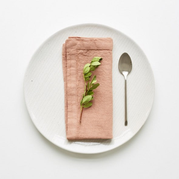 soft washed linen napkins cafe creme linenetales