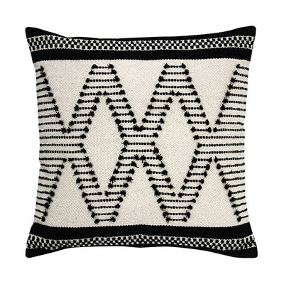 Black and White Aztec Cushion