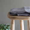 fog linen work grey linen towel