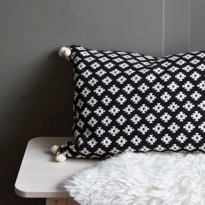 Ondine Ash - Frida Geo Cushion
