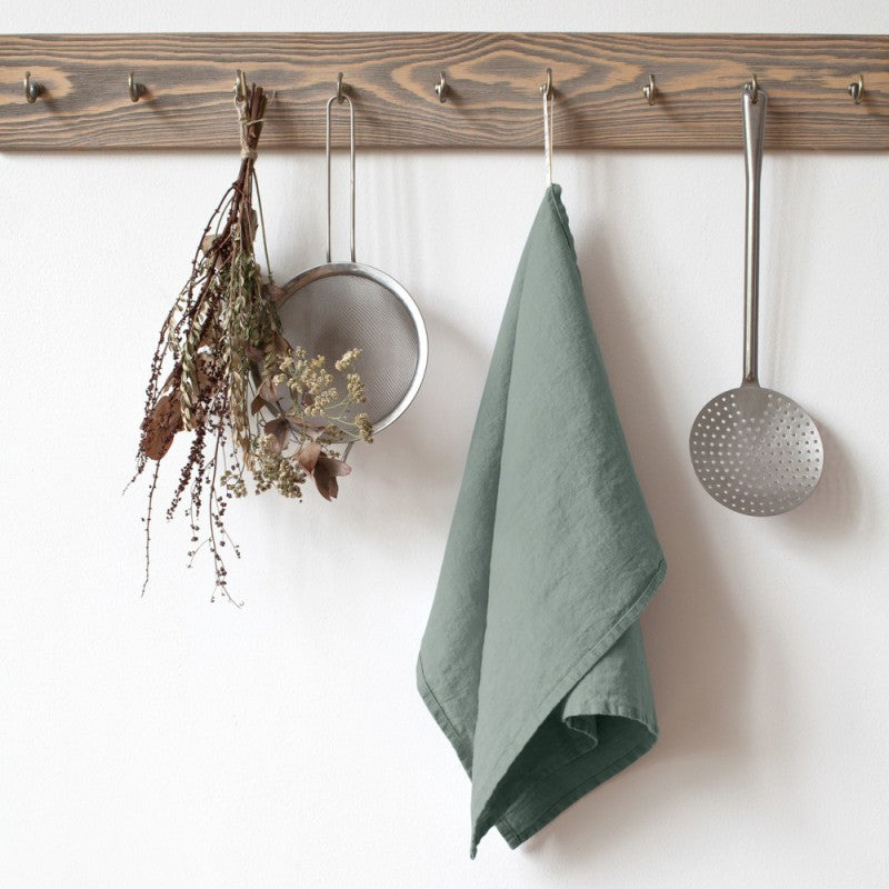 washed-linen-kitchen-cloth-green