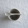 Handmade teaspoon - Dark Clay
