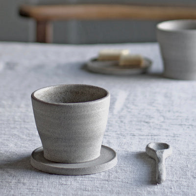 Handmade Cup - Dark Clay