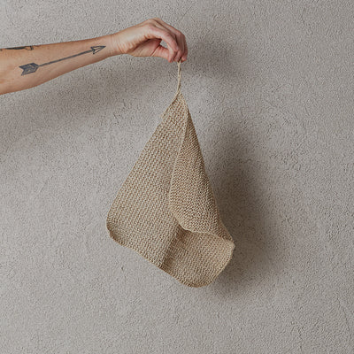 Handmade Hemp Wash Cloth