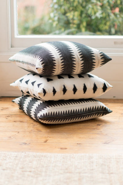 Ondine Ash - Lulu Triangle Cushion