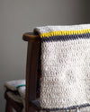 Hand Knitted Woollen Throw