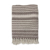 Natural / Brown Zig Zag Throw HKliving