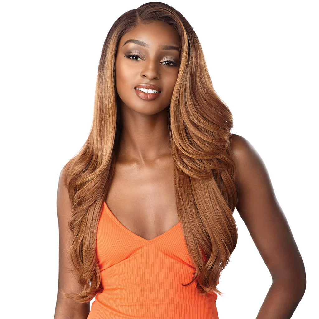 Maecee Synthetic Lace Front Long Wig