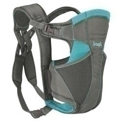 Evenflo Snugli Comfort Vent Soft Front Carrier - Gray & Turquoise