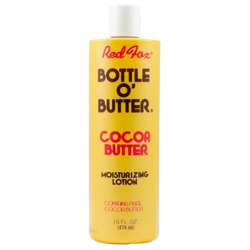 Red Fox Bottle O'butter Cocoa Butter Moisturizing Lotion - 16 Ounces