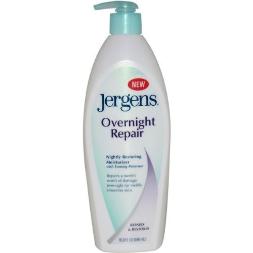 Jergens Overnight Repair Restoring Smoother Skin Moisturizer - 16.8 Ounce
