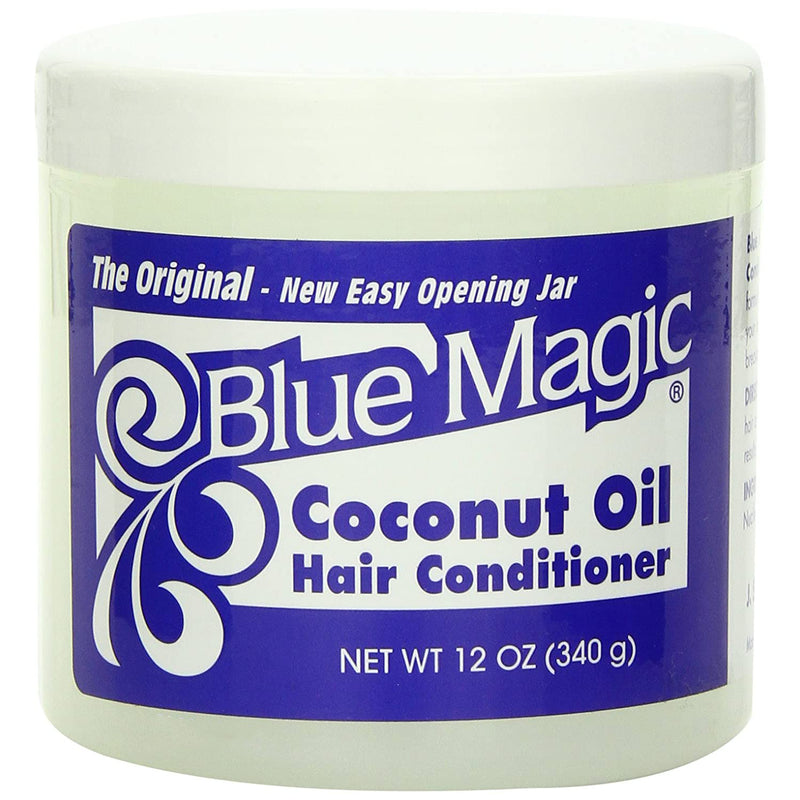 Blue Magic Coconut Oil Hair Conditioner, 12 Ounces