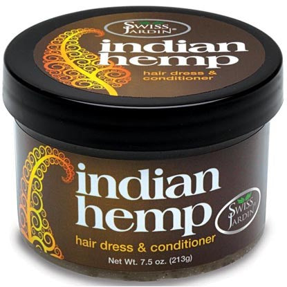 Swiss Jardin Indian Hemp Hair Dress And Conditioner Jar - 7.5 Ounces
