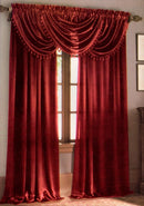 Hilton Rod Pocket Panel Burgundy - 54x84