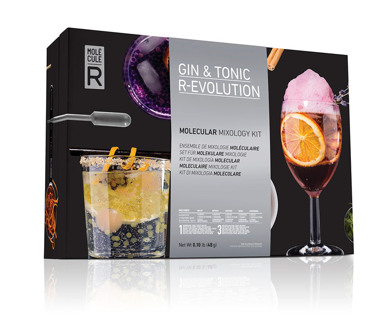 Molecule-r Gin And Tonic Mixology Kit Set
