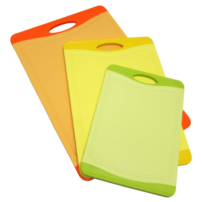 Microban Antimicrobial Cutting Board Set – 3-pieces