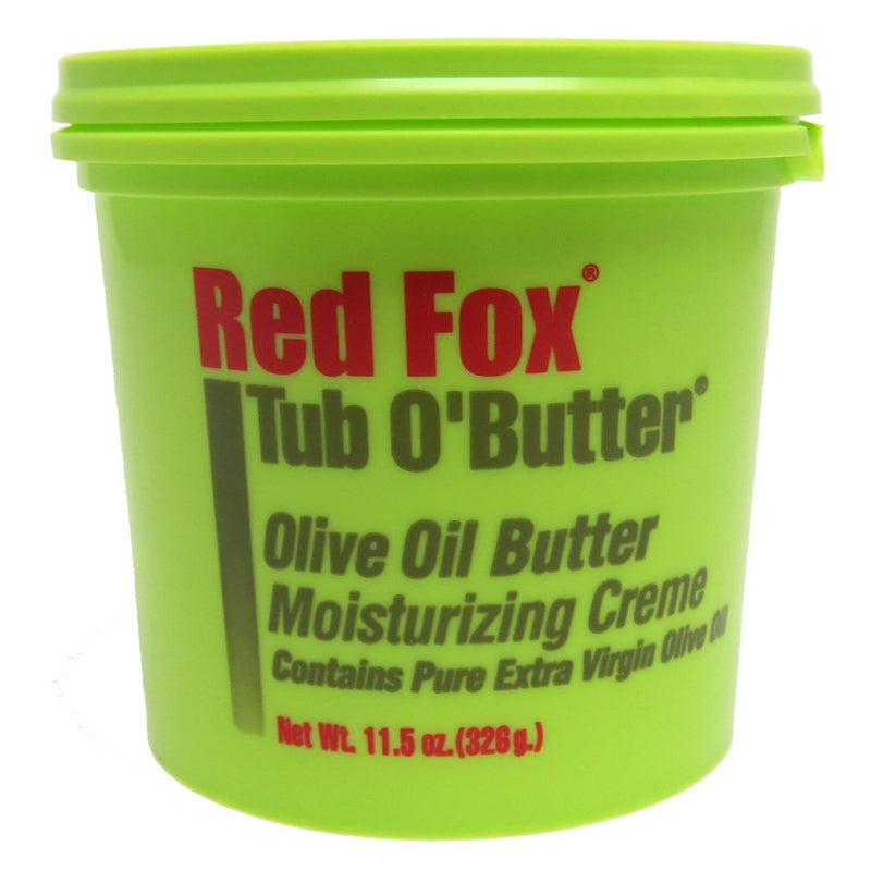 Red Fox Tub O'butter Olive Oil Butter Moisturizing Creme - 11.5 Ounces