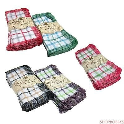"Better Home 24-pack Dish Cloths 12""x12""- Colors May Vary"