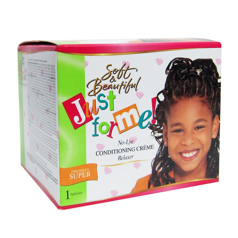 Soft & Beautiful Just For Me No-lye Conditioning Creme Relaxer - Children Super